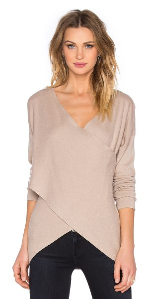 BCBGMAXAZRIA Florinda sweater in neutrals - 56% merino wool 36% nylon 8% alpaca. Hand wash cold....