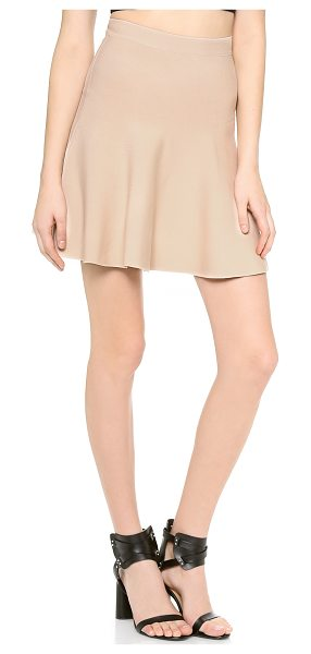 BCBGMAXAZRIA ingrid skirt - A BCBGMAXAZRIA miniskirt in a comfortable, pull-on...
