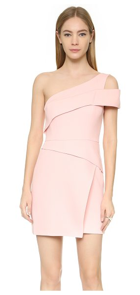 BCBGMAXAZRIA One shoulder mini dress - A single shoulder BCBGMAXAZRIA dress, styled with...