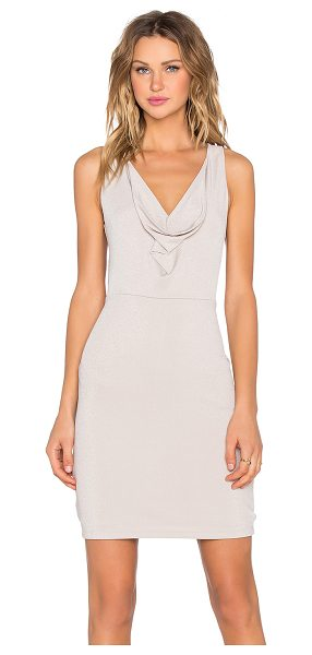 BCBGMAXAZRIA Oriele Dress in beige - Shell: 71% acetate 13% poly 11% nylonLining: 92% poly 8%...
