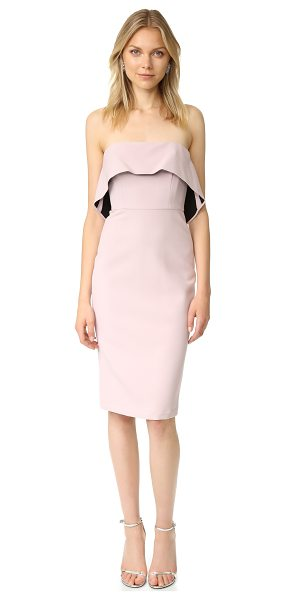 BCBGMAXAZRIA strapless ruffle dress - A strapless BCBGMAXAZRIA dress with a curve-conforming...