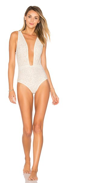 BEACH RIOT Ibiza One Piece in rose - Poly blend. Hand wash cold. Stretch fit. Raised stud...