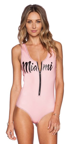 BEACH RIOT The mambo swimsuit in pink