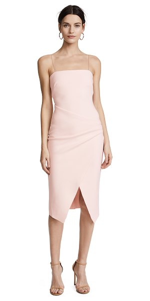 Bec & Bridge auriele dress in shell pink - Fabric: Stretch crepe suiting Sheath dress silhouette...
