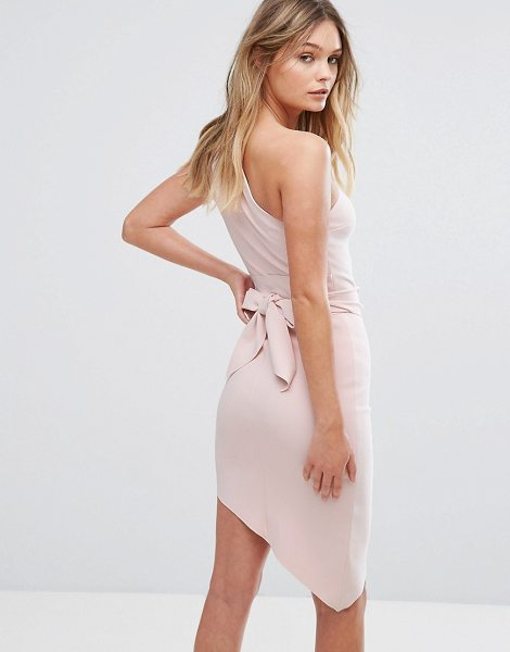 """Bec & Bridge Mystify Asymetric Dress in pink - """"""""Dress by Bec Bridge, Thick stretch crepe, Unlined..."""