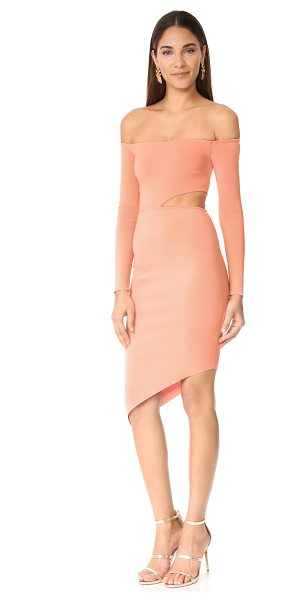 Bec & Bridge salt lake long sleeve dress in blush - NOTE: Runs small. A formfitting Bec & Bridge dress with...