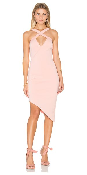 Bec & Bridge Banditti Cross Dress in pink - Self: 92% poly 8% elastaneBinding: 100% poly. Hand wash...