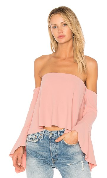 Bec & Bridge Camielle Top in rose - Self: 100% polyLining: 95% poly 5% elastane. Hand wash...