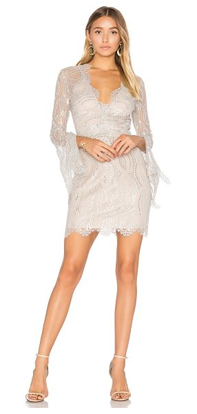 BEC & BRIDGE Mirror Palace Plunge Dress - Self: 68% nylon 32% metallicLining: 95% poly 5%...