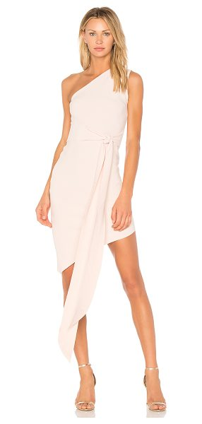 Bec & Bridge Mystify Dress in pink - 95% poly 5% elastane. Hand wash cold. Unlined. One...