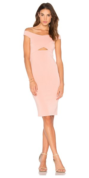 "Bec & Bridge Salt Lake Dress in pink - ""Self & Lining: 95% poly 5% elastane. Hand wash cold...."