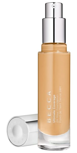 BECCA Cosmetics becca ultimate coverage 24-hour foundation in buff - What it is: An oil-free, full-coverage, liquid...