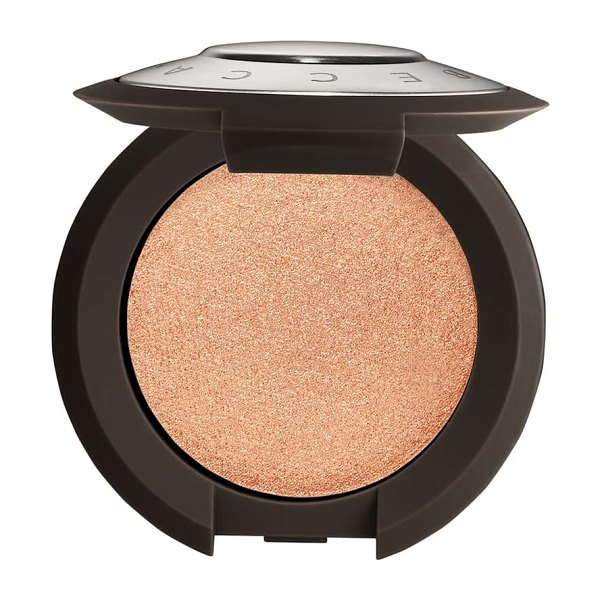 BECCA Cosmetics shimmering skin perfector pressed highlighter in rose gold