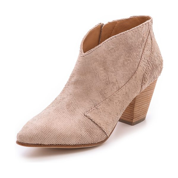 BELLE by Sigerson Morrison Yoko booties in light pink