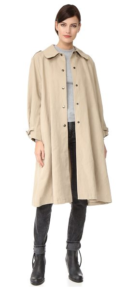 BELSTAFF alne trench coat in light beige - This Belstaff trench coat was designed in collaboration...