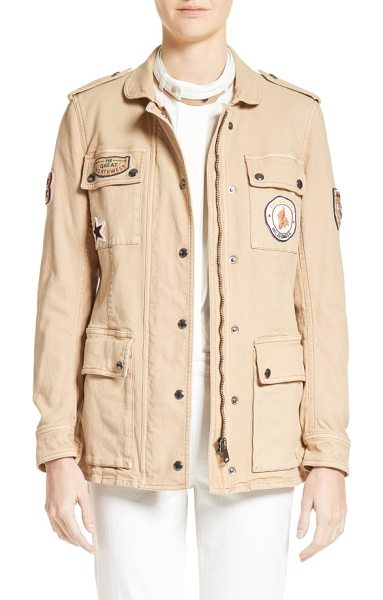 BELSTAFF hoghton cotton drill jacket - A heritage military jacket made from durable...