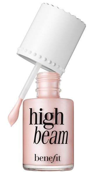 BENEFIT COSMETICS benefit high beam satiny pink liquid highlighter - What it is: A satiny-pink liquid highlighter. What it...