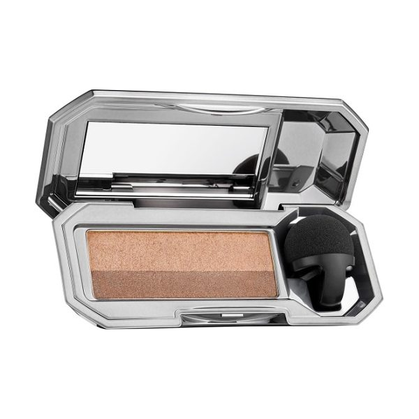 Benefit Cosmetics benefit they're real! eyeshadow blender & beyond easy eyeshadow duo in beyond nude - What it is: A perfectly paired neutral eyeshadow duo....
