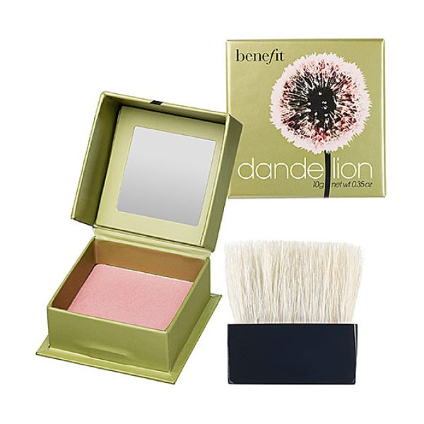 Benefit Cosmetics dandelion box o powder blush dandelion 0.25 oz/ 7 g