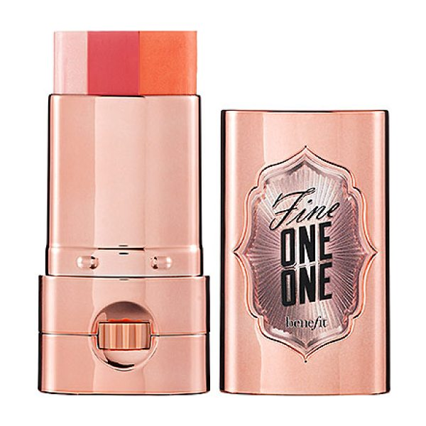 Benefit Cosmetics fine one one - A sheer, brightening cheek-and-lip color for instant...