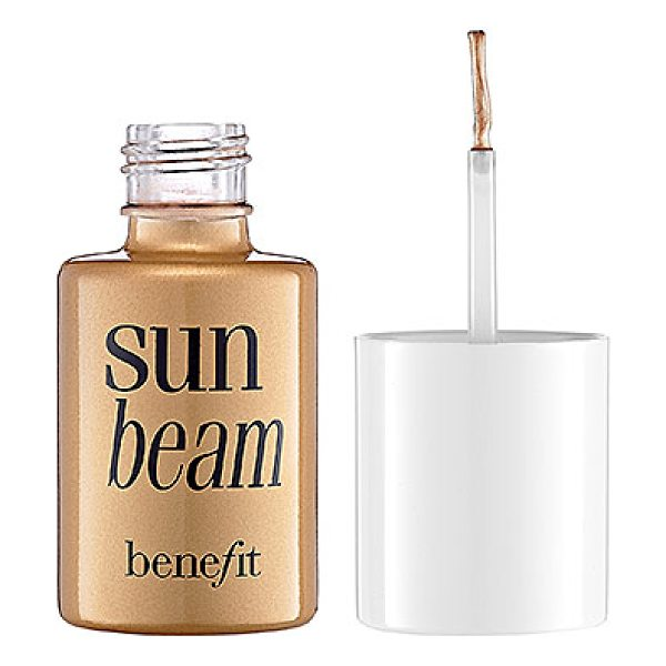 Benefit Cosmetics sun beam golden-bronze liquid highlighter sun beam 0.45 oz/ 12.5 g