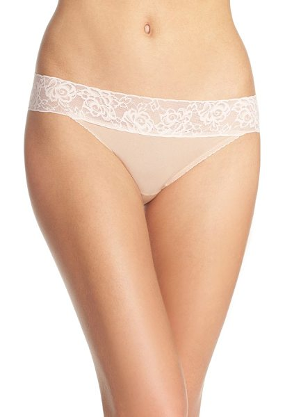 Betsey Johnson forever perfect hipster panties in naked