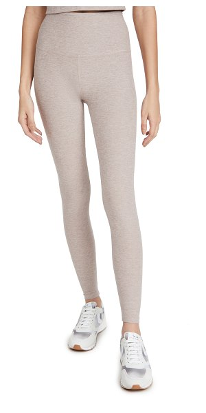 Beyond Yoga high waisted midi leggings in chai