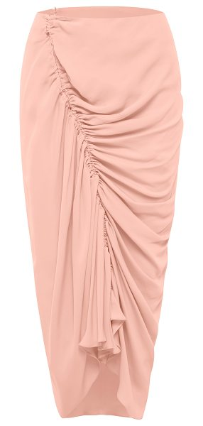 bianca spender Asymmetrical Gathered Skirt in pink - This *Bianca Spender* Asymmetrical Gathered Skirt...