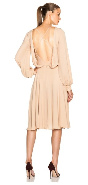 BIANCA SPENDER Pirouette dress - 100% silk.  Made in Australia.  Partially lined. ...