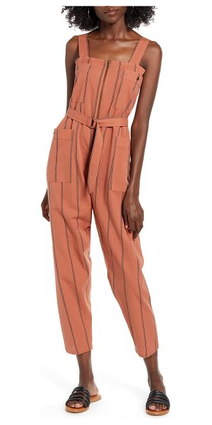 Billabong light the night jumpsuit in coral