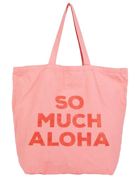 Billabong surf tote bag in pink