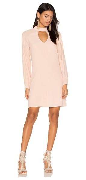 Blaque Label Keyhole Dress in pink - Shell: 55% rayon 45% viscoseLining: 96% poly 4% spandex....