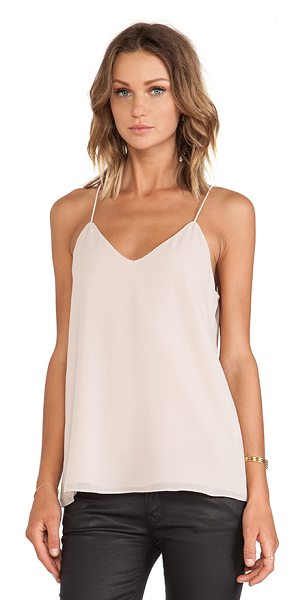 Blaque Label Tank in blush - 100% poly. Dry clean only. BLAQ-WS40. BQT507. Since...