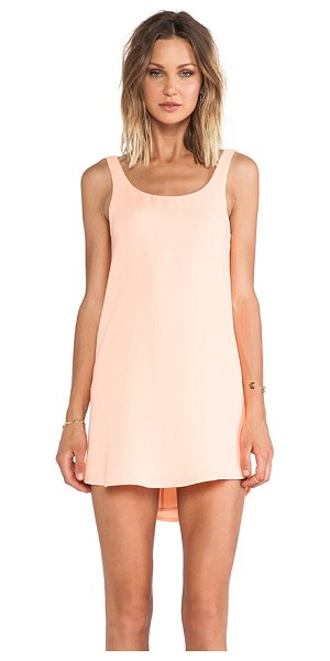 Blaque Label Tank mini dress in peach - Poly blend. Fully lined. BLAQ-WD78. BQD814. Since 2009,...