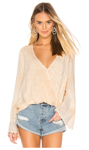 Blue Life haley top in leopard print sand - Blue Life Haley Top in Cream. - size XS (also in L,M,S)...
