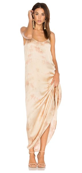 Blue Life Kate Maxi Dress in beige - 54% viscose 46% cotton. Dry clean only. Partially lined....