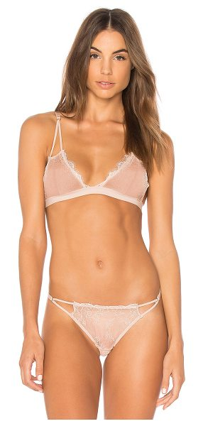 BLUEBELLA Lyra Soft Bra - 100% polyamide. Hand wash cold. Sheer lace fabric....