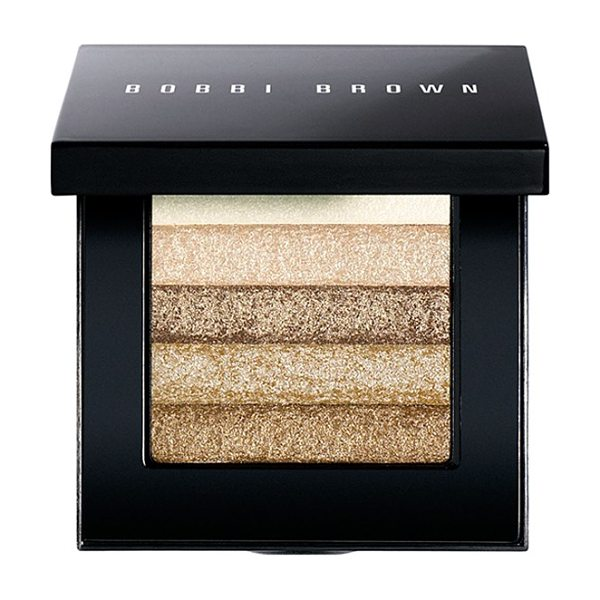 BOBBI BROWN Beige shimmer brick compact - What it is: This shimmering, brush-on powder creates a...