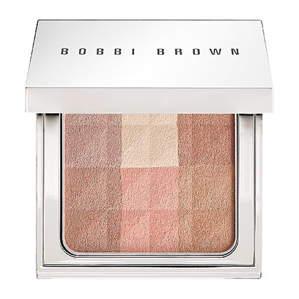 Bobbi Brown brightening finishing powder brightening nudes - An all-over powder that instantly illuminates skin with...
