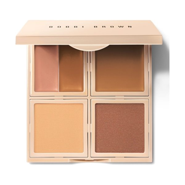 Bobbi Brown 5-in-1 essential face palette in 10 warm almond - What it is: An all-in-one palette featuring everything...