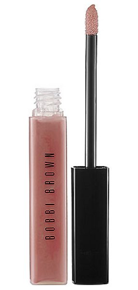 Bobbi Brown lip gloss nude 0.24 oz/ 7 ml - A lip gloss with a sheer, non-sticky shine with a hint...