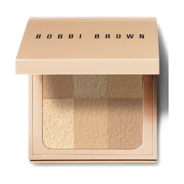 Bobbi Brown nude finish illuminating powder in nude
