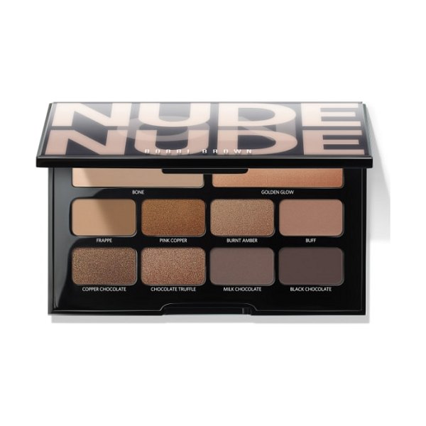 Bobbi Brown nude on nude eyeshadow palette in bronzed nudes - What it is: A limited-edition eye palette packed with an...