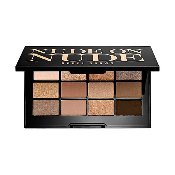 Bobbi Brown nude on nude palette - A palette of 12 buildable shadows in three finishes for...