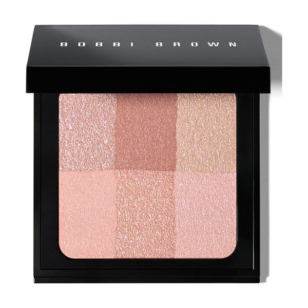Bobbi Brown brightening brick compact in pink - What it is: A go-to product for a lit-from-within glow....