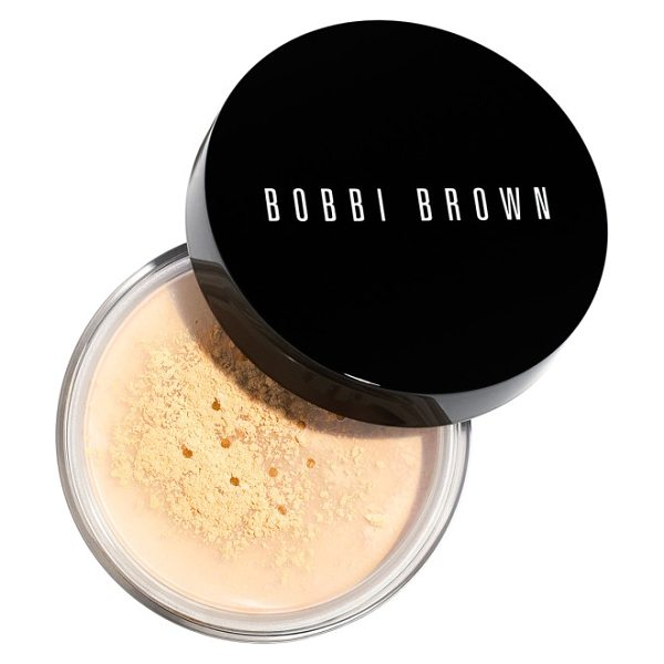 Bobbi Brown sheer finish loose powder in warm natural