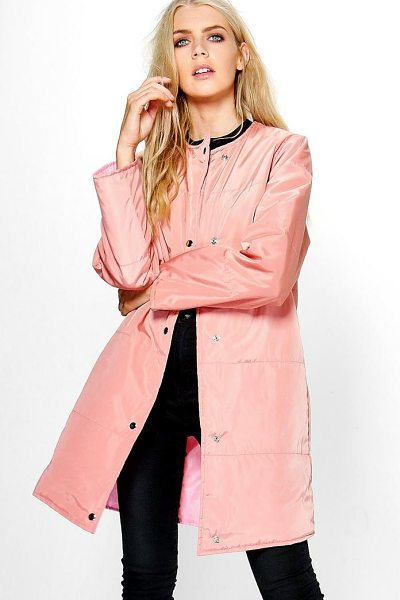 BOOHOO Abigail Quilted Jacket - Wrap up in the latest coats and jackets and get...