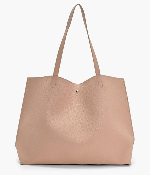 Boohoo Anita Large Pocket Tote Shopper in natural - Add attitude with accessories for those fashion-forward...