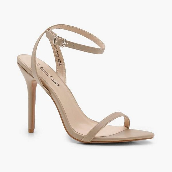 afa3d05b36 Boohoo Pointed Toe Barely There Heels | Nudevotion