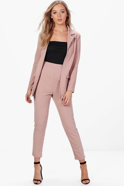 Boohoo Bella Skinny Trouser in mocha - Trousers are a more sophisticated alternative to...